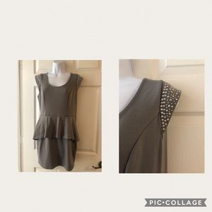 Guess dress in size medium grey with bling